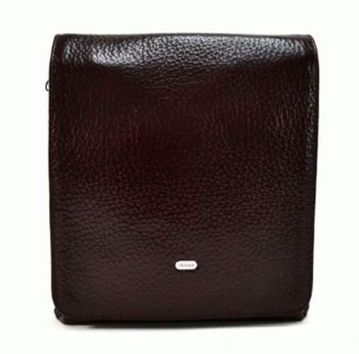 Мужская кожаная сумка DESISAN 18506 - фото 1