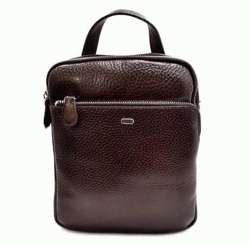 Мужская кожаная сумка DESISAN 9761 - фото 1