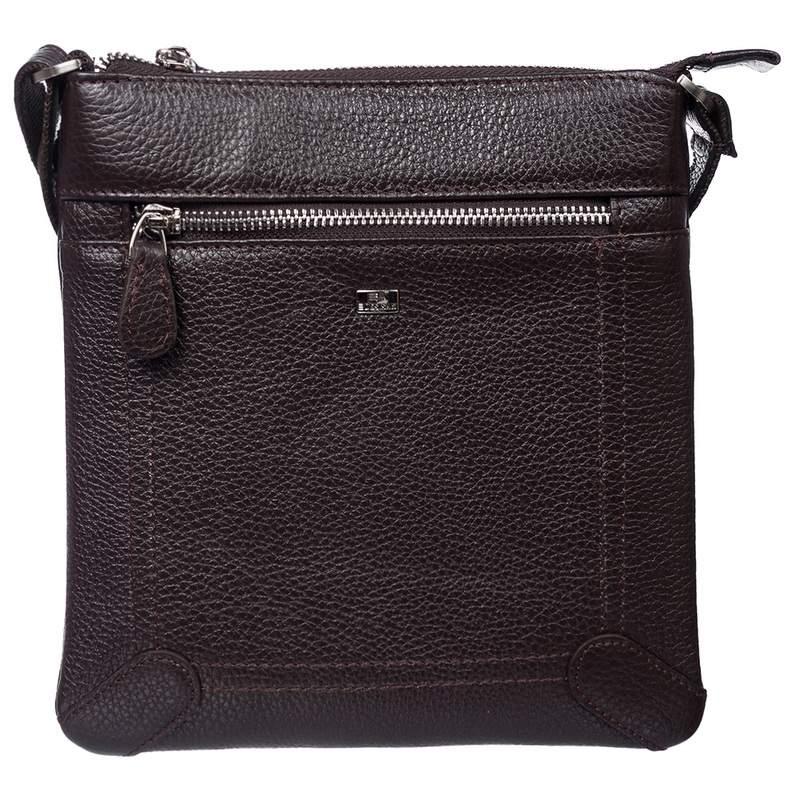 Мужская кожаная сумка DESISAN 17670 - фото 1