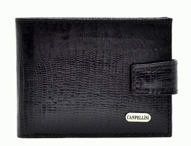 Кожаный мужской кошелек Canpellini 9610 - фото 1