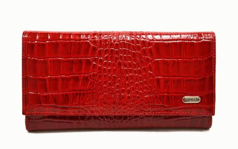 Женский кожаный кошелек Canpellini 8654 - фото 1
