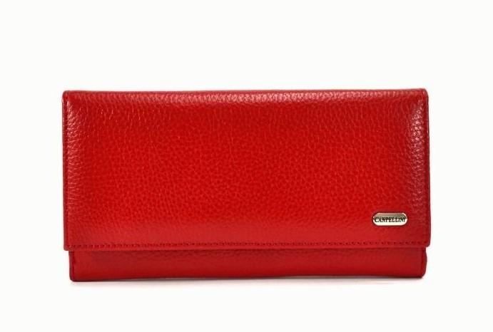 Женский кожаный кошелек Canpellini 8653 - фото 1