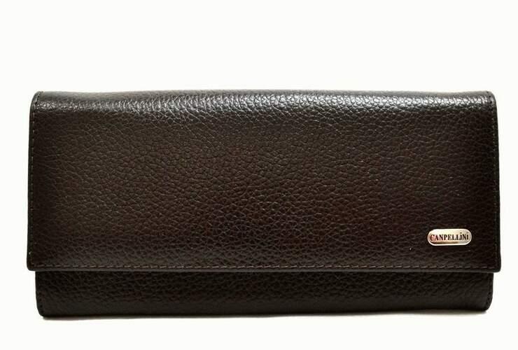 Женский кожаный кошелек Canpellini 8686 - фото 1