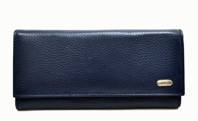 Женский кожаный кошелек Canpellini 8681 - фото 1