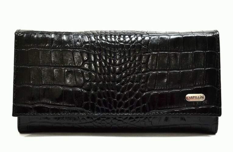Женский кожаный кошелек Canpellini 8702 - фото 1
