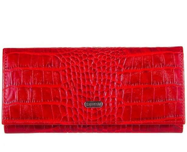 Женский кожаный кошелек Canpellini 11506 - фото 1