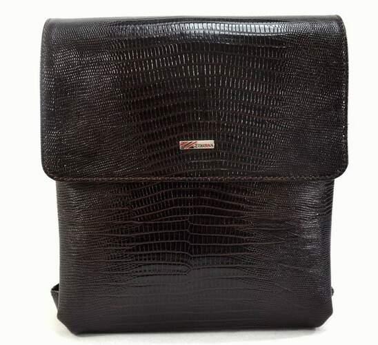 Мужская кожаная сумка DESISAN 9793 - фото 1