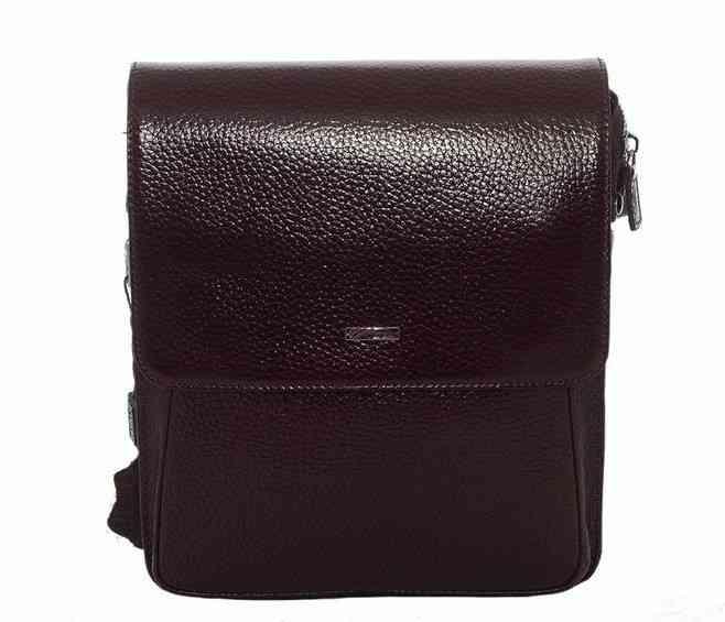 Мужская кожаная сумка DESISAN 8868 - фото 1