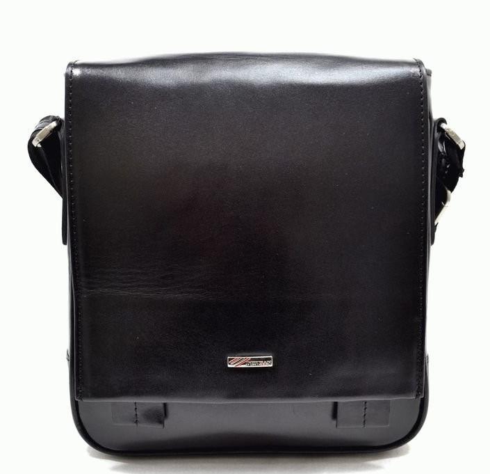 Мужская кожаная сумка DESISAN 9748 - фото 1