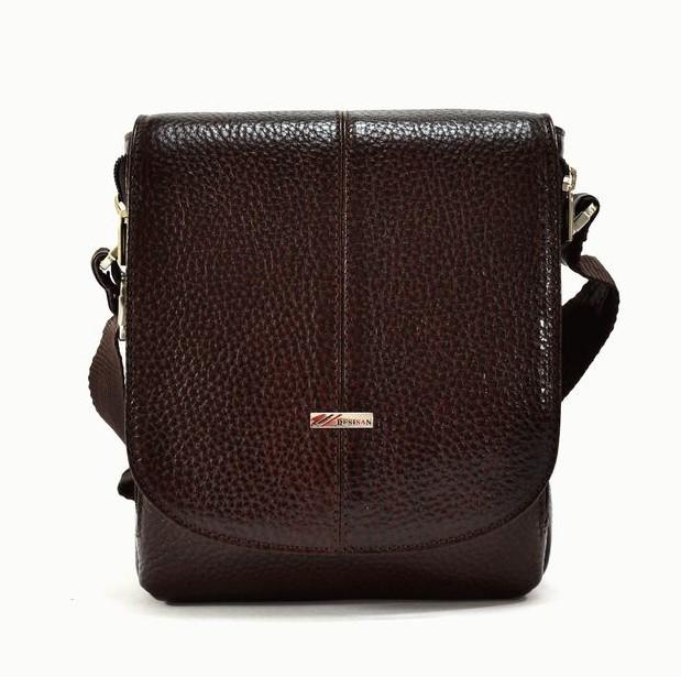 Мужская кожаная сумка DESISAN 11652 - фото 1