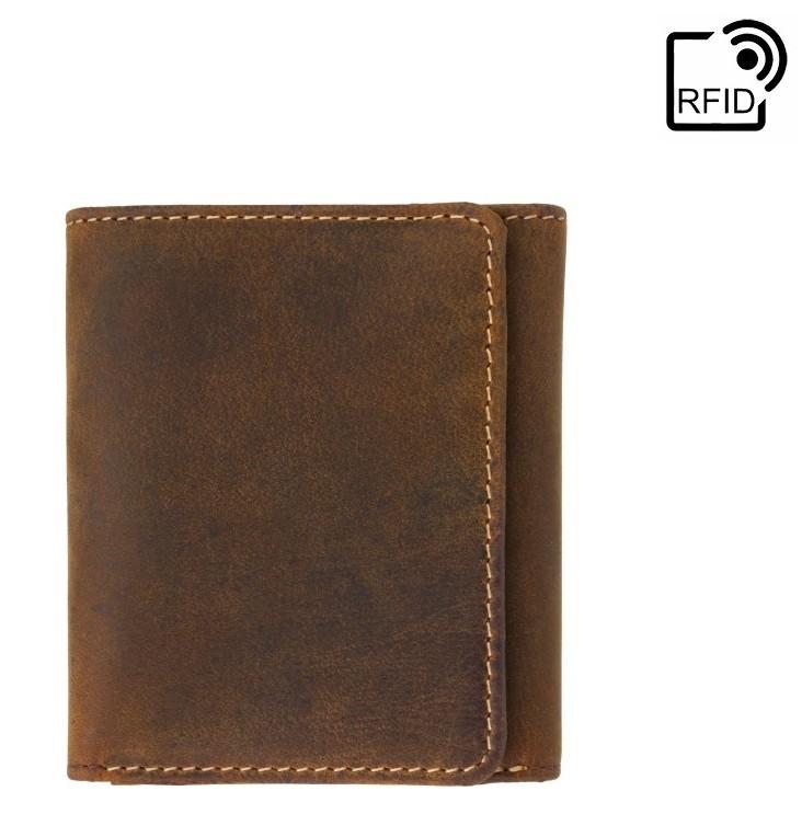 Мужской кожаный кошелек Visconti Apache 17900 - фото 1