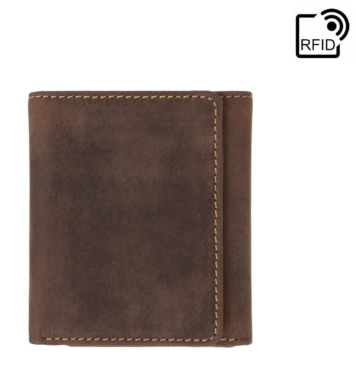 Мужской кожаный кошелек Visconti Apache 17901 - фото 1