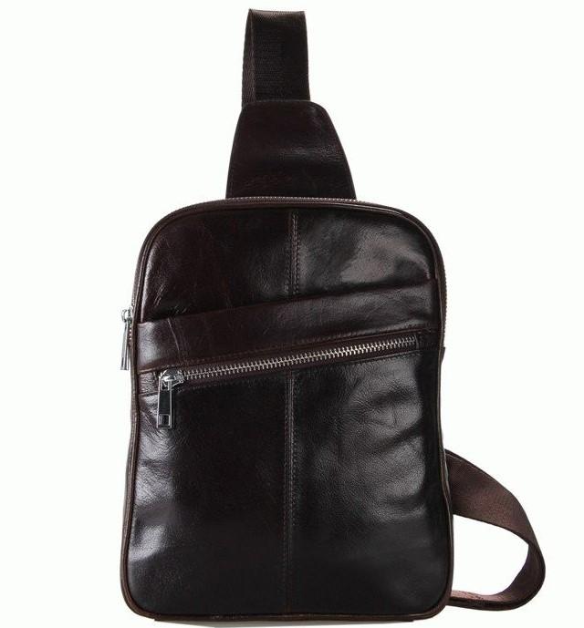 Кожаный рюкзак 7217C 5481 - фото 1