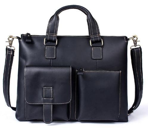 Кожаный портфель Buffalo Bags 17621 - фото 1