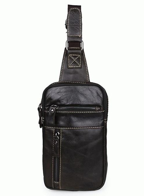 Кожаный рюкзак 7296J 5531 - фото 1