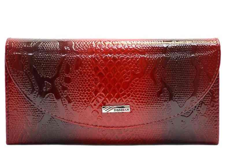 Женский кожаный кошелек Desisan 18936 - фото 1