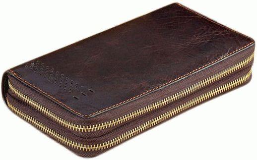 Мужской кожаный клатч Buffalo Bags 5598 - фото 1