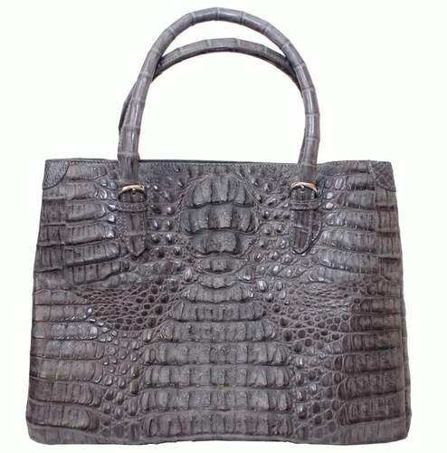 9905499dde15 Женская сумка из кожи крокодила - 1321e Grey - купить в Киеве по ...
