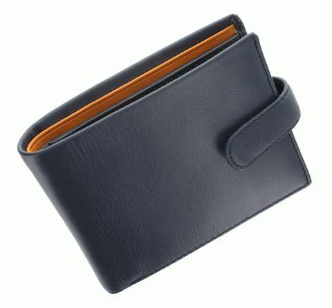 3d3975252ddc Мужской кожаный кошелек Visconti Parma - PM100 BL/MT - купить в ...