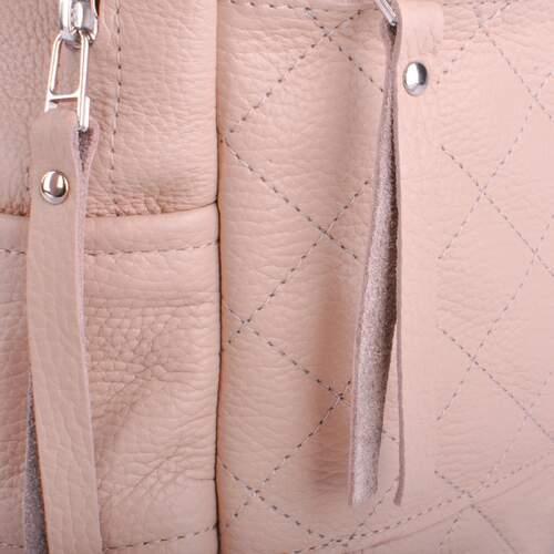 c5d2a0a27d13 Кожаный рюкзак JIZUZ CASPIA NUDE - CA312310N - купить в Киеве по ...