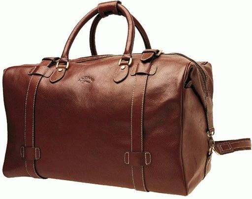 5f81c8fd5b51 Кожаная дорожная сумка KATANA Размер: 51 x 31 x 29 см Цвет: коричневый  Материал: телячья кожа Стильная и вместительная дорожная сумка из  натуральной кожи.