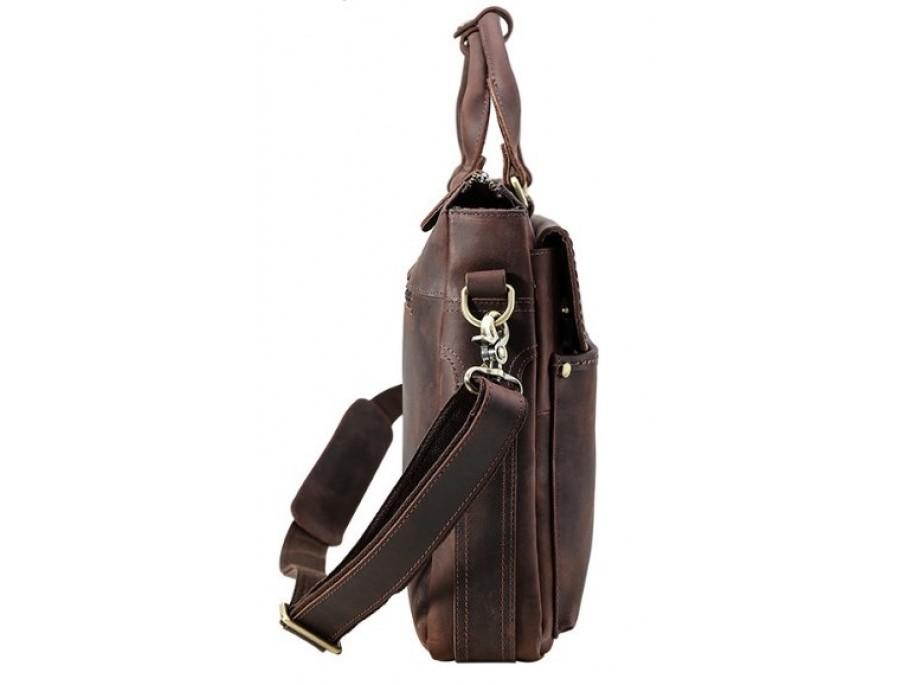 e9ed17633218 Мужской кожаный портфель Tiding Bag t1096 - t1096 - купить в Киеве ...
