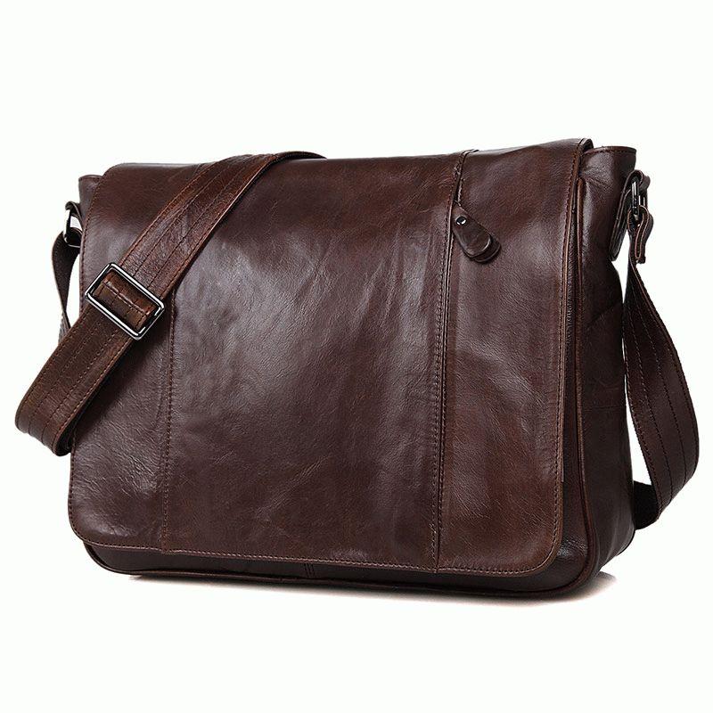 b1ef3203595a Мужская кожаная сумка через плечо 7338C - 7338C - купить в Киеве по ...