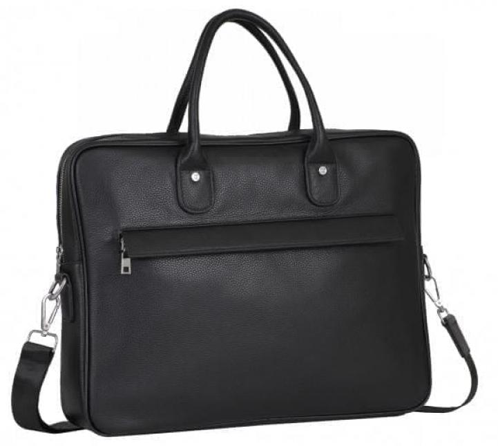Мужской кожаный портфель Tiding Bag 14053 - фото 1