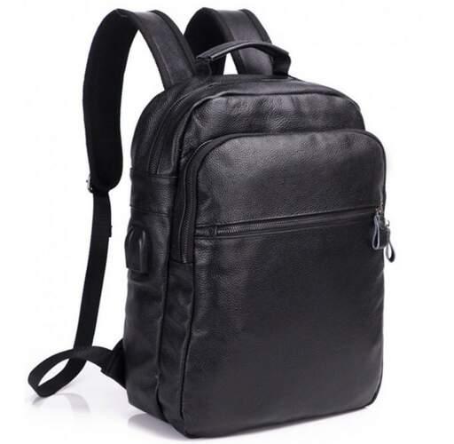Кожаный рюкзак TIDING 19513 - фото 1
