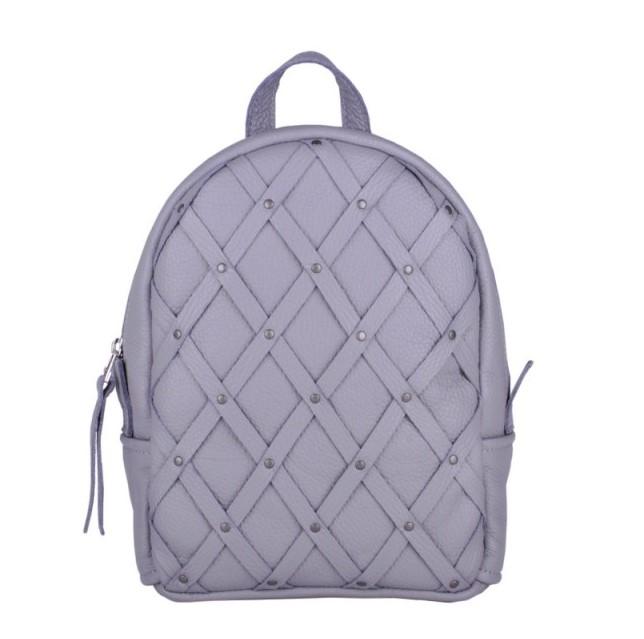 Кожаный рюкзак JIZUZ ARCHER GREY 11418 - фото 1