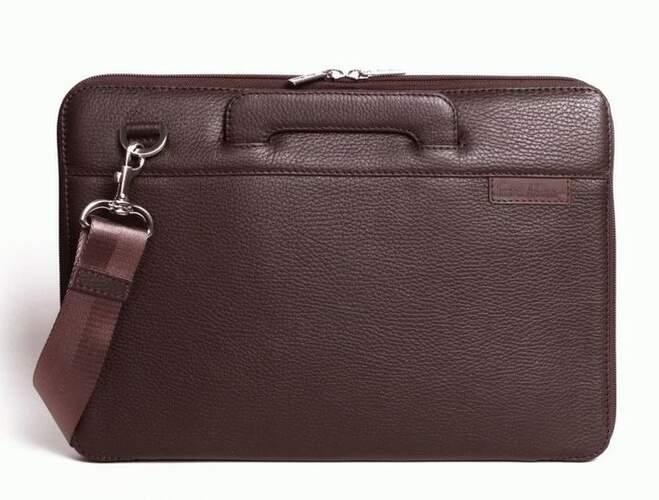 "Кожаная сумка для MacBook 13"" Issa Hara 7538 - фото 1"
