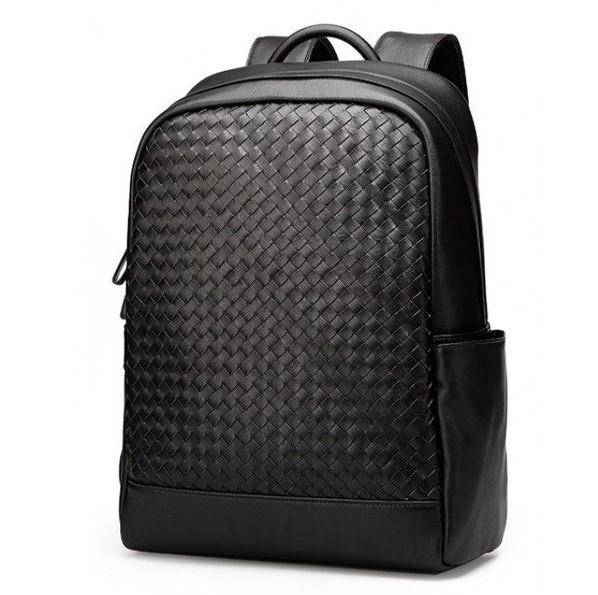 Кожаный мужской рюкзак TIDING 12455 - фото 1