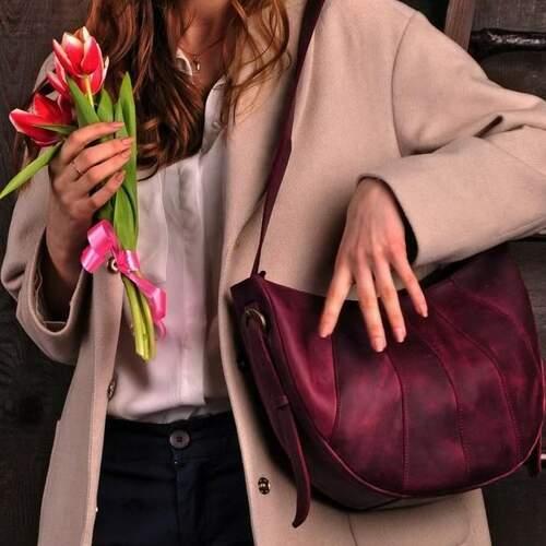 """Женская сумка Blanknote """"Круассан"""" 9841 - фото 1"""