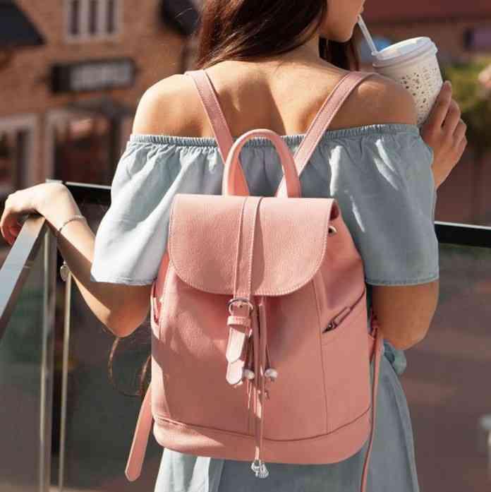 Кожаный рюкзак BlankNote Олсен барби 10096 - фото 1