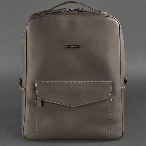Кожаный рюкзак BlankNote COOPER, Мокко 12631 - фото 1