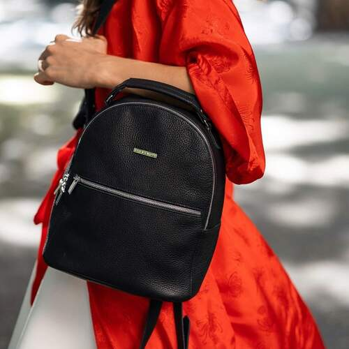 Кожаный рюкзак BlankNote Kylie оникс 12223 - фото 1
