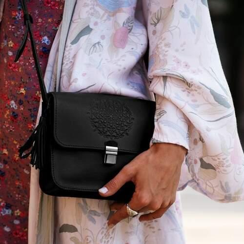 Женская черная сумка Blanknote 7929 - фото 1