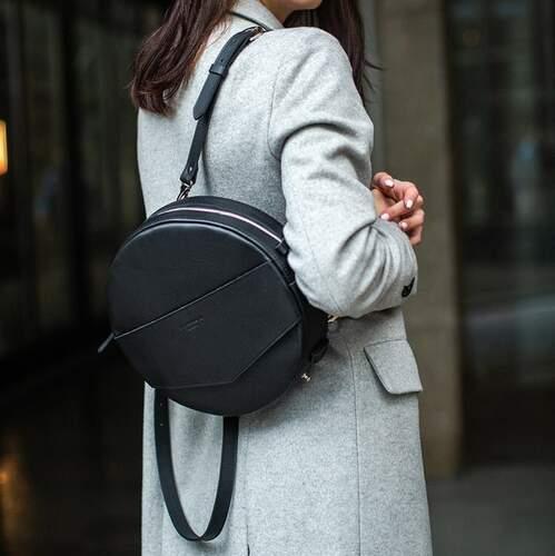 Круглая сумка-рюкзак BlankNote MAXI Графит 12633 - фото 1