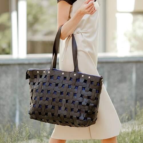 Женская кожаная сумка Blanknote Пазл XL 14008 - фото 1
