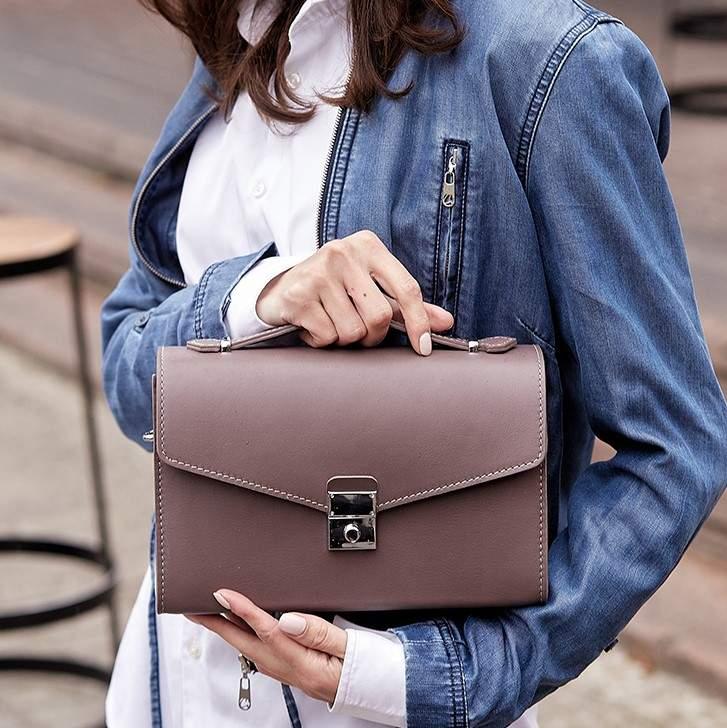 Женская кожаная сумка-кроссбоди Lola 14023 - фото 1
