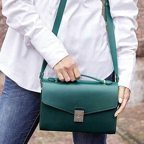 Женская кожаная сумка-кроссбоди Lola 14022 - фото 1
