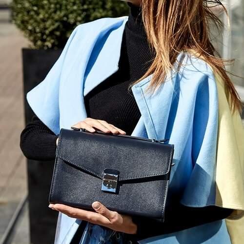 Женская кожаная сумка-кроссбоди Lola 14025 - фото 1