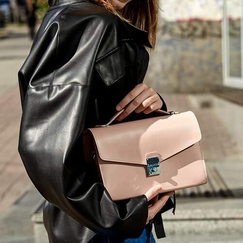 Женская кожаная сумка-кроссбоди Lola 14021 - фото 1
