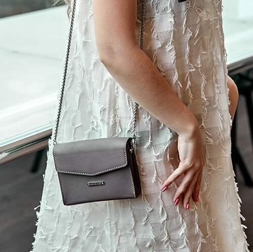 Женская кожаная сумка BlankNote Mini 14017 - фото 1