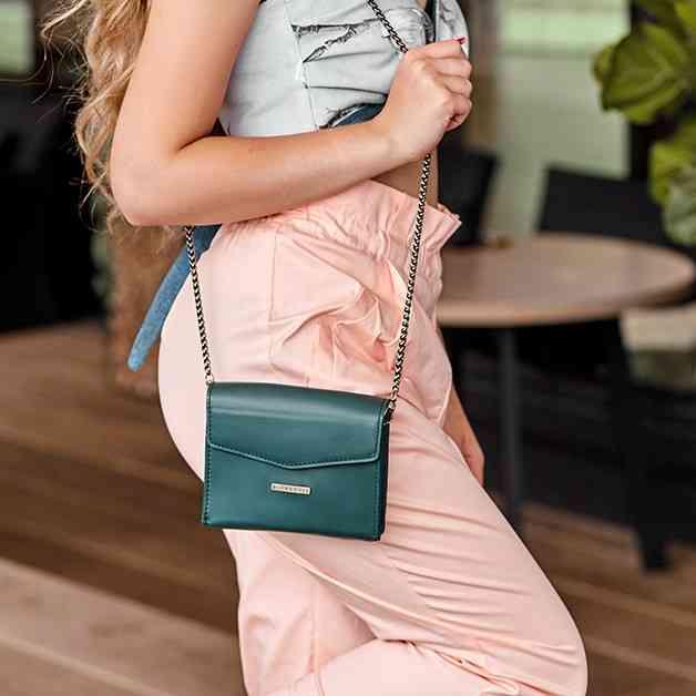 Женская кожаная сумка BlankNote Mini 14018 - фото 1