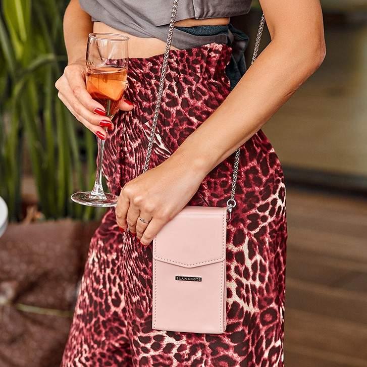 Женская кожаная сумка Mini поясная/кроссбоди 14034 - фото 1