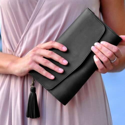 "Женская сумка Blanknote ""Элис"" Графит 7930 - фото 1"