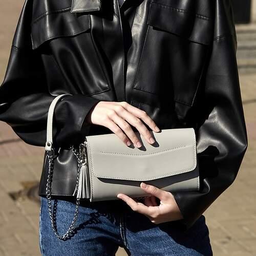 """Женская сумка Blanknote """"Элис"""" Серый 12226 - фото 1"""