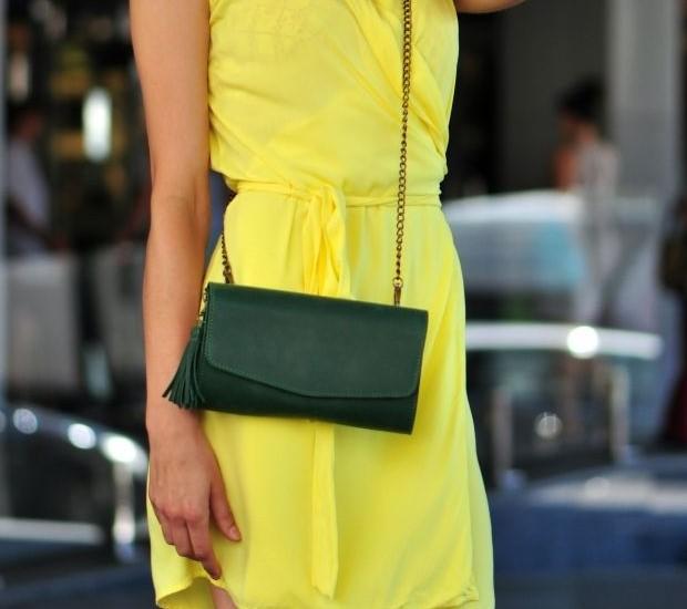 "Женская сумка Blanknote ""Элис"" Изумруд 4727 - фото 1"
