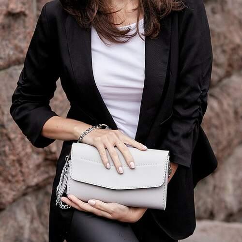 "Женская сумка Blanknote ""Элис"" Белый 12225 - фото 1"